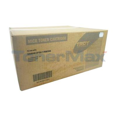 TROY LEXMARK OPTRA T610 616 MICR TONER CART